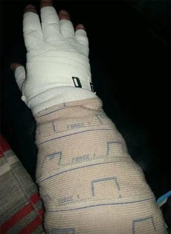 Bandage multi-couche